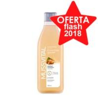 Mussvital Essentials Gel de Baño Suavizante con Aceite de Almendras, 750 ml