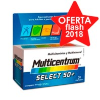 Multicentrum Select 50+, 30 comprimidos