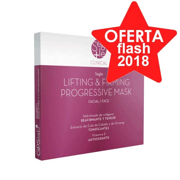 Segle Clinical Mascarilla Lifting y Firmeza Progresiva, Pack 6