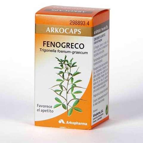 Arkocaps Fenogreco 48 cápsulas, 28 g. ! Farmaconfianza