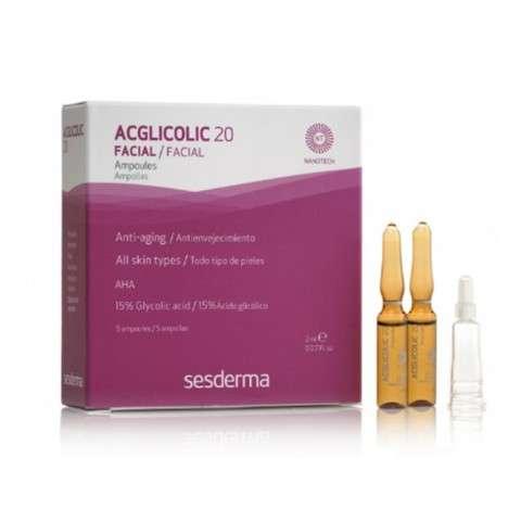 Sesderma AcGlicolic 20, 5 ampollas x 2 ml