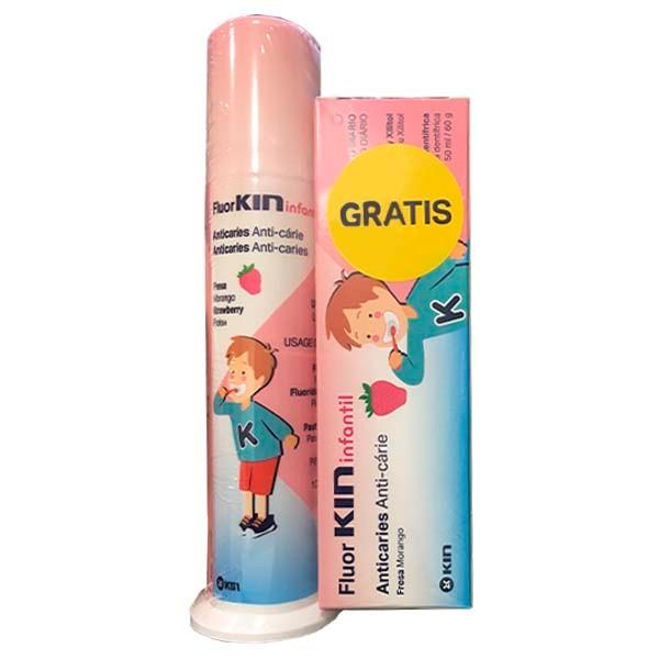 Fluor·Kin Infantil pasta dentífrica, Dosificador 100ml ! Farmaconfianza