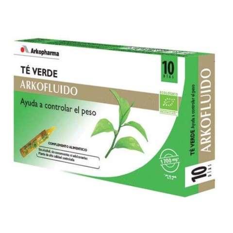Arkofluido Té verde 20 ampollas ! Farmaconfianza