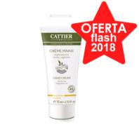Cattier Crema de Manos Secas con arcilla blanca y aceites vegetales, 75 ml