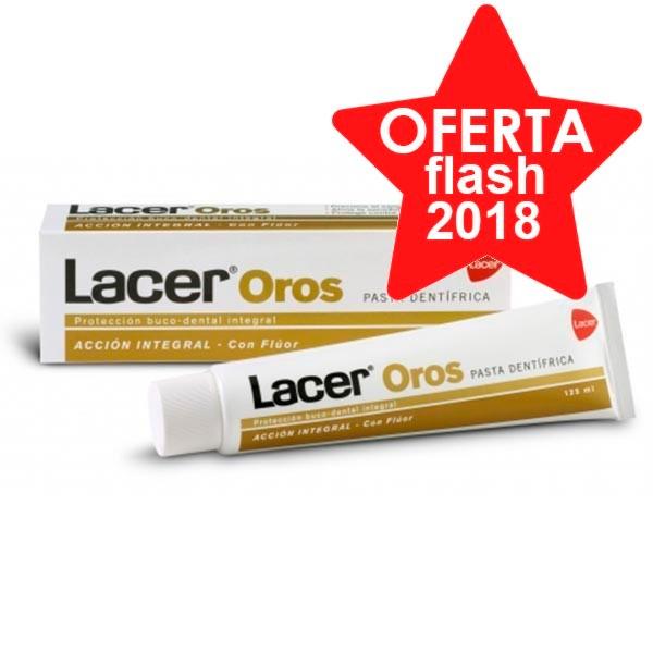 Lacer Oros Pasta Dentífrica, 125 ml ! Farmaconfianza