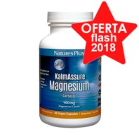 NATURE´S PLUS Kalmassure Magnesium 400mg, 90 Capsulas. | Farmaconfianza