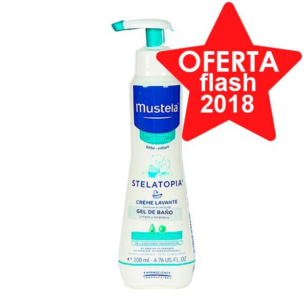 Mustela Stelatopia Gel de Baño, 200 ml. ! Farmaconfianza
