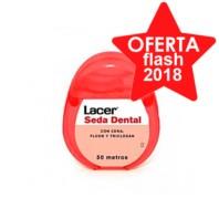 Lacer Seda Dental con Cera, Fluor y Triclosan ! Farmaconfianza