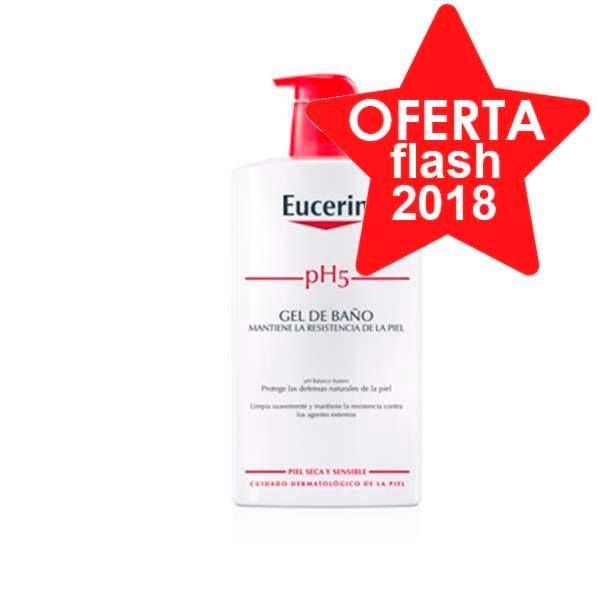 Eucerin pH5 Gel de baño, 1000 ml|Farmaconfianza
