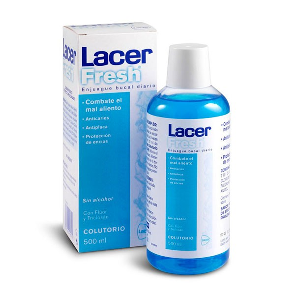 LacerFresh Colutorio, 500 ml
