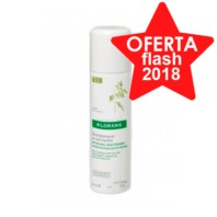 Klorane Champú Seco extra-suave Spray a la Leche de Avena , 150 ml