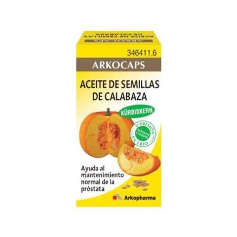 Arkocaps Aceite de Semillas de Calabaza 50 cápsulas, 35 g. ! Farmaconfianza