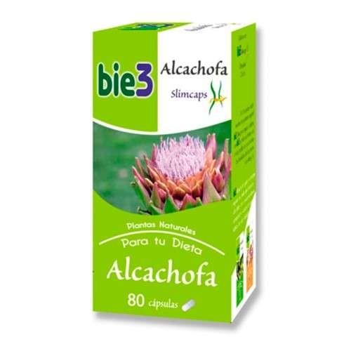 Bie3 Alcachofa Slimcaps, 80 cápsulas de 500mg cada una. | Farmaconfianza
