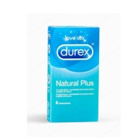 Durex Natural Plus, 6 Preservativos | Farmaconfianza