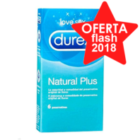 Durex Natural Plus, 6 Preservativos | Farmaconfianza