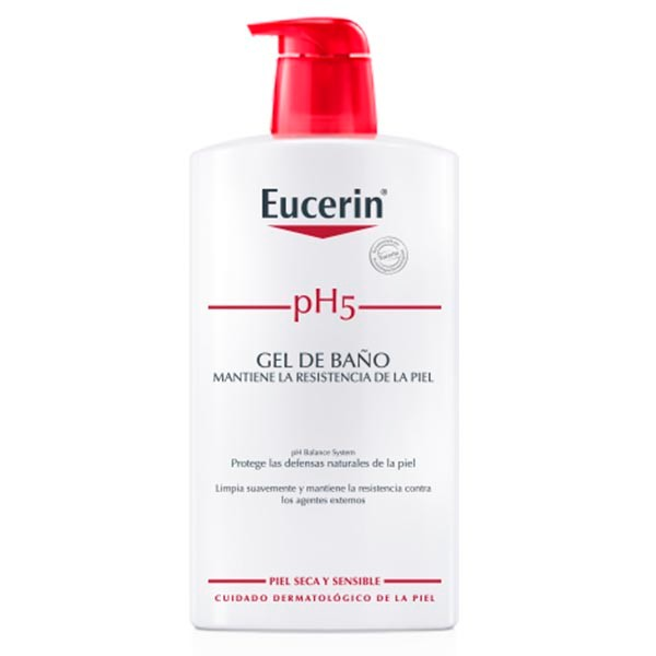 Eucerin pH5 Gel de Baño, 400 ml