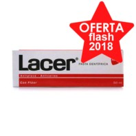 Lacer Fluor Pasta dentífrica,Tubo 75 ml