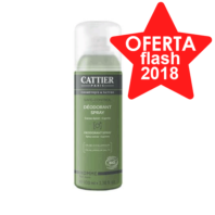 Cattier Hombre Spray Desodorante sin sales de aluminio, 100 ml