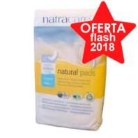 Natracare Compresas Super sin Alas, 12 u.