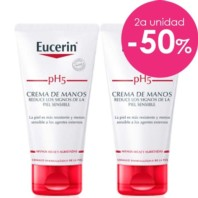 Eucerin pH5 DUPLO Crema de manos, 2 x 75 ml. ! Farmaconfianza