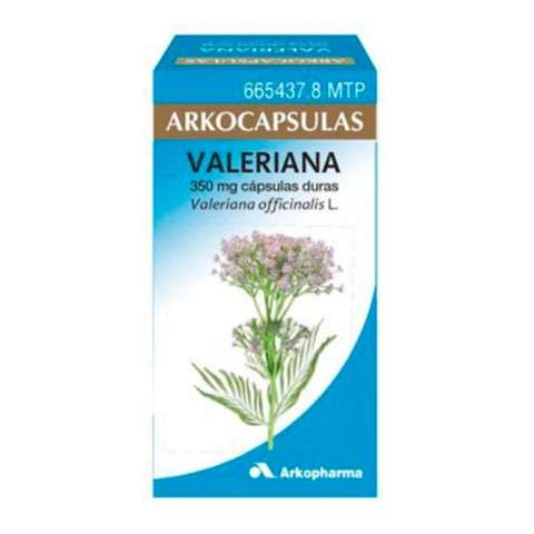 ARKOCAPSULAS Valeriana 84 cápsulas, 350 mg. ! Farmaconfianza