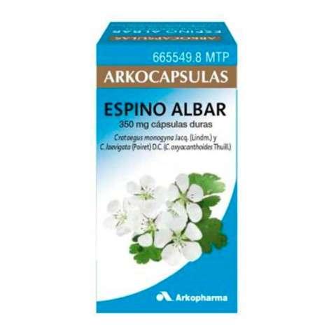 Arkocápsulas Espino Albar 84 cápsulas, 350 mg ! Farmaconfianza
