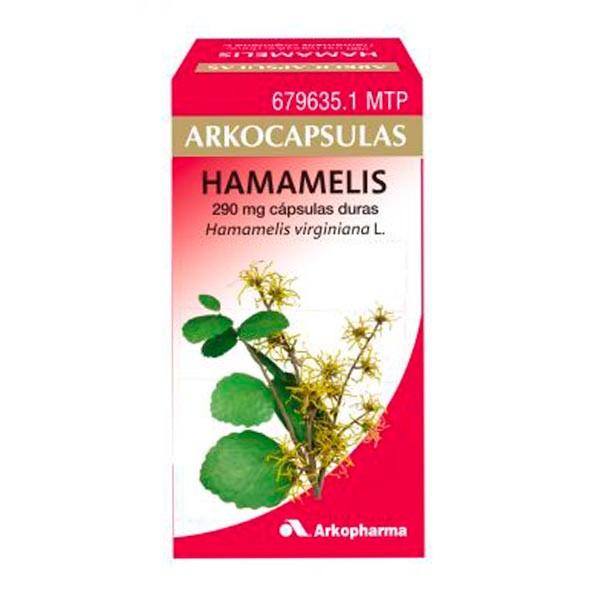 Arkocápsulas Hamamelis, 48 cápsulas ! Farmaconfianza