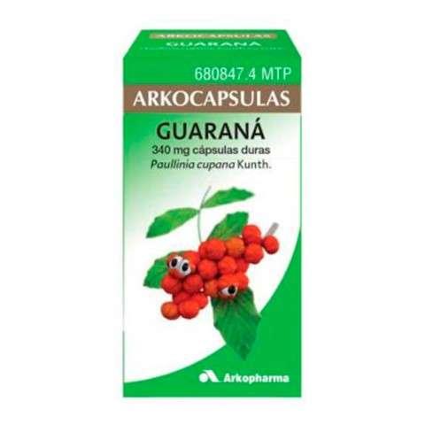 Arkocápsulas Guaraná 100 cápsulas, 340 mg ! Farmaconfianza