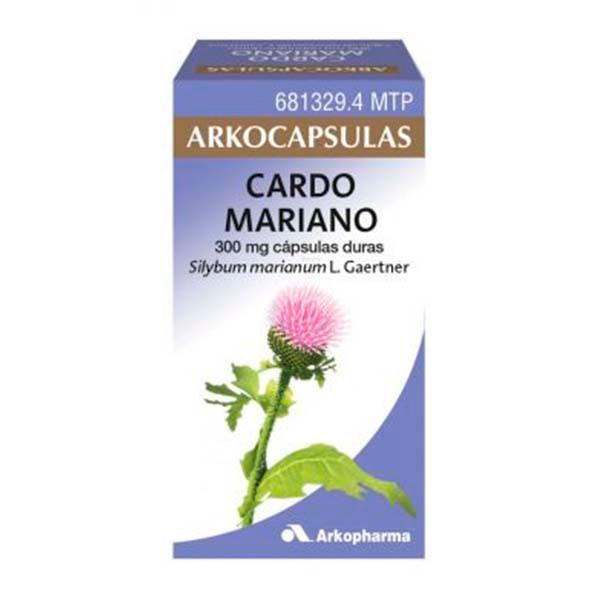 Arkocápsulas Cardo Mariano, 50 cápsulas ! Farmaconfianza