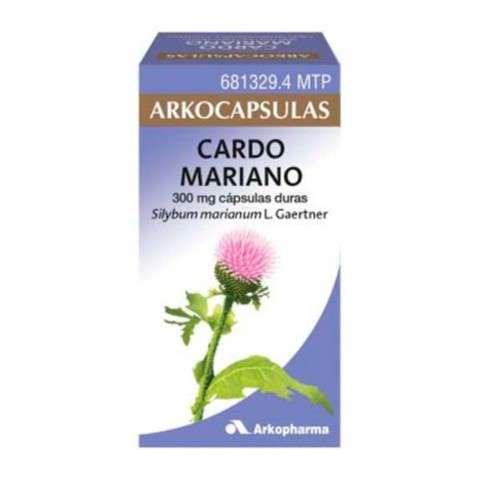 Arkocápsulas Cardo Mariano 100 cápsulas, 300 mg. ! Farmaconfianza