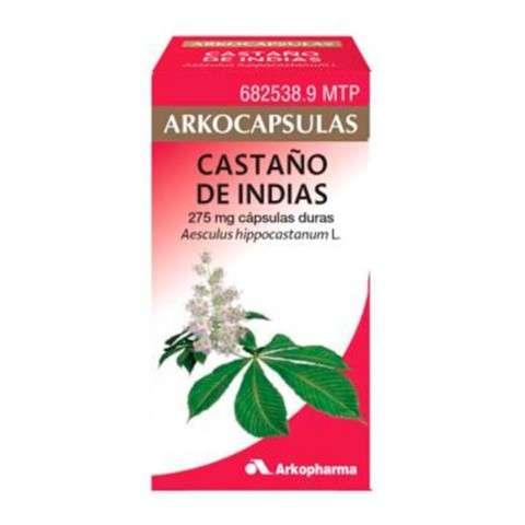 Arkocápsulas Castaño de Indias 84 cápsulas, 275 mg. ! Farmaconfianza