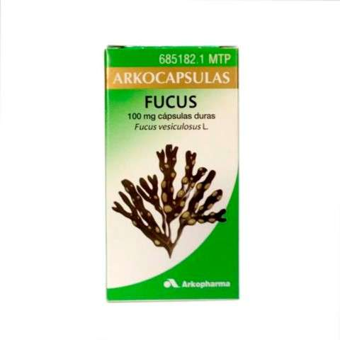 Arkocapsulas Fucus, 50 cápsulas. | Farmaconfianza