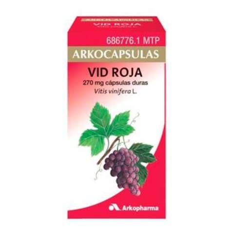 Arkocápsulas Vid Roja 100 cápsulas, 270 mg. ! Farmaconfianza