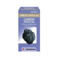 Arkocapsulas Carbón Vegetal, 50 cápsulas. | Farmaconfianza