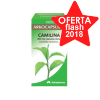 Arkocápsulas Camilina (Té Verde), 100 cápsulas | Farmaconfianza