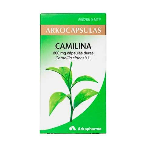 Arkocapsulas Camilina, 200 cápsulas.   Farmaconfianza