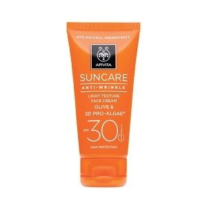 APIVITA SUNCARE ANTI-WRINKLE SPF30 CREMA 50 ML