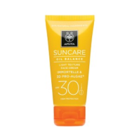 Apivita Suncare Crema Solar Facial Oil Balance SPF30 | Farmaconfianza