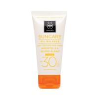 Apivita Suncare Crema Solar Facial Oil Balance SPF30 con Color | Farmaconfianza