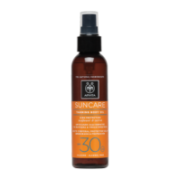 Apivita Suncare Aceite bronceador de cuerpo SPF30 Spray 150ml | Farmaconfianza