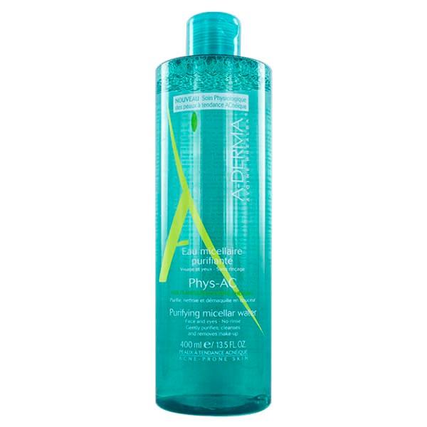 Aderma Phys-AC Agua Micelar Purificante, 400 ml|Farmaconfianza