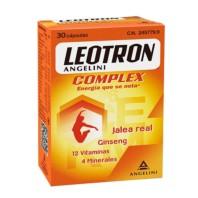 Leotron Complex Jalea Real, Gingseng, 12 Vitaminas y 4 Minerales, 30 cápsulas