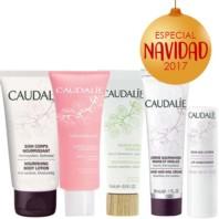Caudalie Neceser + Crema Corporal + Crema Sorbete + Mascarilla + Crema Manos y Uñas + Tratamiento Labios Pack Navidad 2017|Farmaconfianza