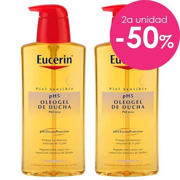Eucerin pH5 Pack Oleogel de Ducha, 400 ml. + 50% 2ª ud. ! Farmaconfianza