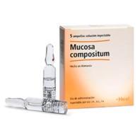 Heel Compositum Mucosa, 5 ampollas | Farmaconfianza