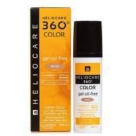 Heliocare 360º SPF 50+ Color Gel Oil-Free Beige| Farmaconfianza | Farmacia Online