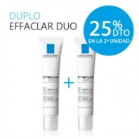 La Roche-Posay Effaclar Duo (+) Tratamiento anti-imperfecciones severas pieles grasas 2x40ml