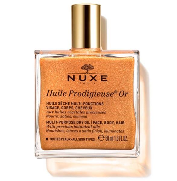 NUXE Huile Prodigieuse OR efecto luminosidad, 50 ml