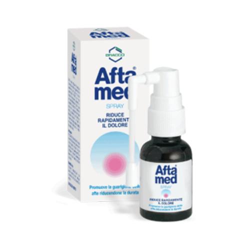 Descubre ahora Aftamed Spray, ofrece alivio inmediato a dolores en la boca provocados por llagas o úlceras. Lo encuentras al mejor precio en tu Farmacia Online de Confianza