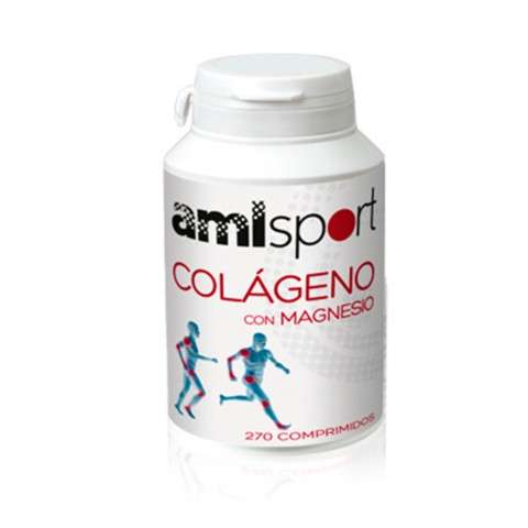 AMLSport Colágeno con Magnesio, 270 comprimidos